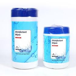 Voldoe aan Uw Behoefte van het Pakket de Magische niet Geweven Hand van het Desinfecterende middel van de Alcohol van 75 Percenten het Natte Weefsel EPA van de Auto afveegt