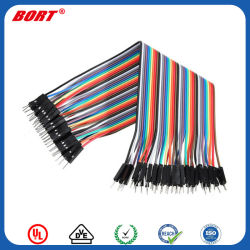 De rojo y negro 2 x 0.50mm Cable de altavoz ideal para el car audio HiFi de inicio