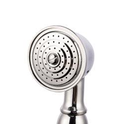 Testa a testa piana cromata Ottone doccia risparmio acqua testa per Casa
