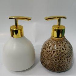 Vaso de cerâmica Decoração decoração moderna de porcelana vaidade bancada de banheiro Acessórios Dispensador de sabão sabão basculante / Decorativo Definido