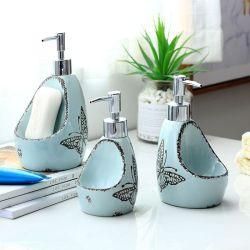 Nordic 다기능 손으로 칠한 욕실 액세서리 세라믹 로션 병 SOAP 디스펜서