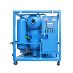 La Deshidratación de alto vacío de la máquina de procesamiento de aceite dieléctrico 9000L/h