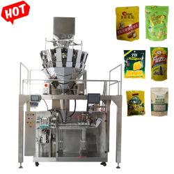 Remplissage d'azote Aliments soufflé les croustilles Stand up Pochette Sac Doypack de remplissage automatique de l'Emballage Emballage//machine de package