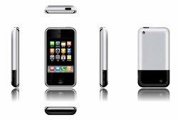 Ecrã de 3,5 polegadas com Bluetooth do telemóvel