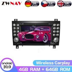 10.0 Para Android reproductor de DVD para coche Benz Clase Slk R171 2004-2012 Multimedia GPS Navi Auto estéreo de sonido de la Radio de la unidad de cabeza