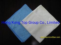 クリーニングの強力な光沢があるFDY Microfiberの布のクリーニングタオル