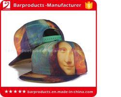 La Parte Superior Calidad de Impresión Mona Lisa Cap Snapback Street Sombreros