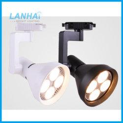 Светодиод контакт лампа 25W 35W 40W 45W белого цвета черный коммерческих акцентного освещения PAR30 контакт лампа