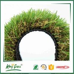 フロアーリングの装飾を人工的な草の総合的な草および快適な人工的な泥炭を自然見ること