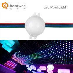 30mm 카보숑 컷 박람회를 위한 Ucs1903 점광원 LED 화소 빛 12V 디지털 RGB