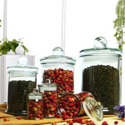 150ml-7500ml jarro de chá de vidro logotipo personalizado Candle Jar titulares de velas