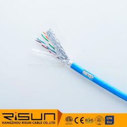 Câble Cat5e SFTP en cuivre nu massif Câble LAN