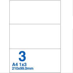 Selbstklebendes Etikettenpapier, Werkseitig Hergestellt