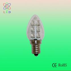 Patentó EL LED C7 E12 para la cadena C7 de luz LED lámpara de noche