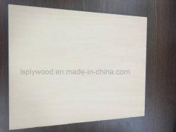 Basswood blanqueada de contrachapado de madera contrachapada de álamo para niños juguetes Rompecabezas
