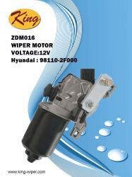 12Vヒュンダイ、OE 98110-2f000のOEMの品質、工場価格のための前部ワイパーモーター