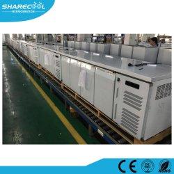 Вентилятор системы охлаждения двигателя нержавеющая сталь холодильник рабочий стол с ящиками