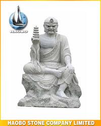 宗教図のArhatの彫刻のLuohanの石造りの彫像