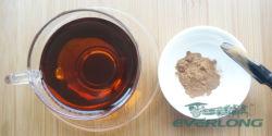 即刻の茶エキスの紅茶の粉