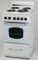 Gamme de cuisine avec plaque chauffante de la bobine électrique autostable ETL