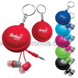 Förderung-Ohr-Telefon mit Verpackungs-Reißverschluss-Kasten