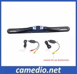 Беспроводной ночного видения ЕС номерного знака Car камеры заднего вида