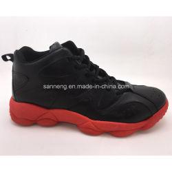 Snc-52003 Chaussures de sport semelle extérieure en PVC PU Upper