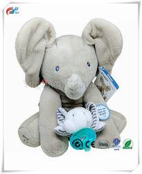 Flappy слона и слонов в утолщении Wubba пустышки подарочный набор