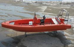 O Parque Aquático Aqualand 26pés 8m 14pessoas EVA Sponson Paralama espuma sólida ou sistema de tubo cheio de ar/fibra de costela insuflável rígida do barco a motor (costela800)