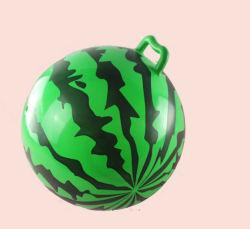 Рекламные дешевые мини надувной мяч перехода из ПВХ с ручкой