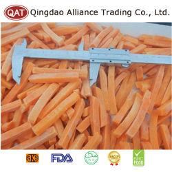 De alto nivel de calidad superior Las tiras de zanahoria