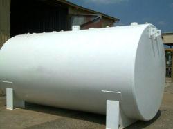 Réservoirs de stockage de carburant diesel horizontale avec jauge de niveau