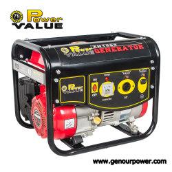 L'essence GPL moteur moteur quatre temps 1kVA 1KW de puissance de l'essence portatif de gaz Générateurs d'utilisation de la famille