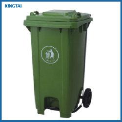 Scomparto di rifiuti di /240L dello scomparto del Wheelie del Piede-Pedale 100L Dustbin/120L