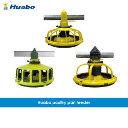 Equipamento de aves de PP de alta qualidade do Alojamento do Alimentador de Rotação Horizontal de frango