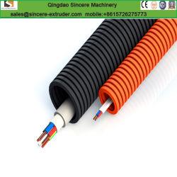 Sjsz51\105 tuyau en PVC ondulé extrudeuse Making Machine pour la pose de câbles.