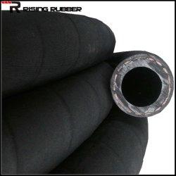 Tresse de textiles de l'air haute pression flexible en caoutchouc