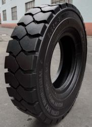 Fabrik-Lieferant PUNKT des Muster-Sh-278, schräge industrielle Gabelstapler-Gummireifen der ISO-Bescheinigung-7.00-12