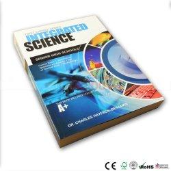 縫われたバインドされた学生の本の印刷サービス