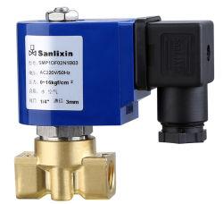 Serie SMP 2/2 vías de acción directa de Gas Agua Aire Electroválvula normalmente cerrada (SMP1DF02N1B03)