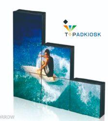 Kleine schmale Anzeigetafel LCD-Video-Wand