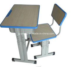 El precio barato de alta calidad Shcool escritorio con silla