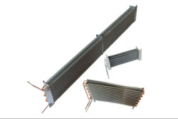 O tubo de cobre alumínio Showcase Evaporador