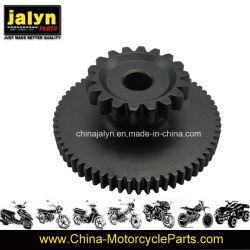 Piezas de motocicleta Moto motor de arranque engranajes dobles para el modelo 150z