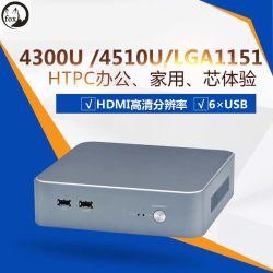 De MiniWolk Eind4300u, 4510u, van de Computer HTPC Industriële Computer LGA1151