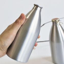 Aluminio 500ml botella de cerveza con tapa de la corona (PPC-ABB-04)