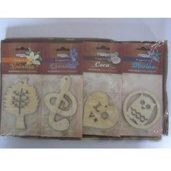 いろいろな種類の木片、ハイエンド車のアクセサリ、芳香剤。 (JSD-E0012)
