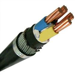 銅のコンダクターXLPEは鋼線の装甲PVCによっておおわれた電源コードを絶縁した