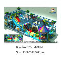 Apparatuur van de Speelplaats van de opvang de Binnen, de Commerciële Digitale Modellen van de Speelplaats (ty-170301-1)