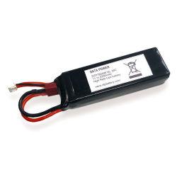 De Batterij van het Polymeer RC van het Lithium van de Lossing van het Hoge Tarief 2200mAh van Dtp783496-3s 11.1V 30c
